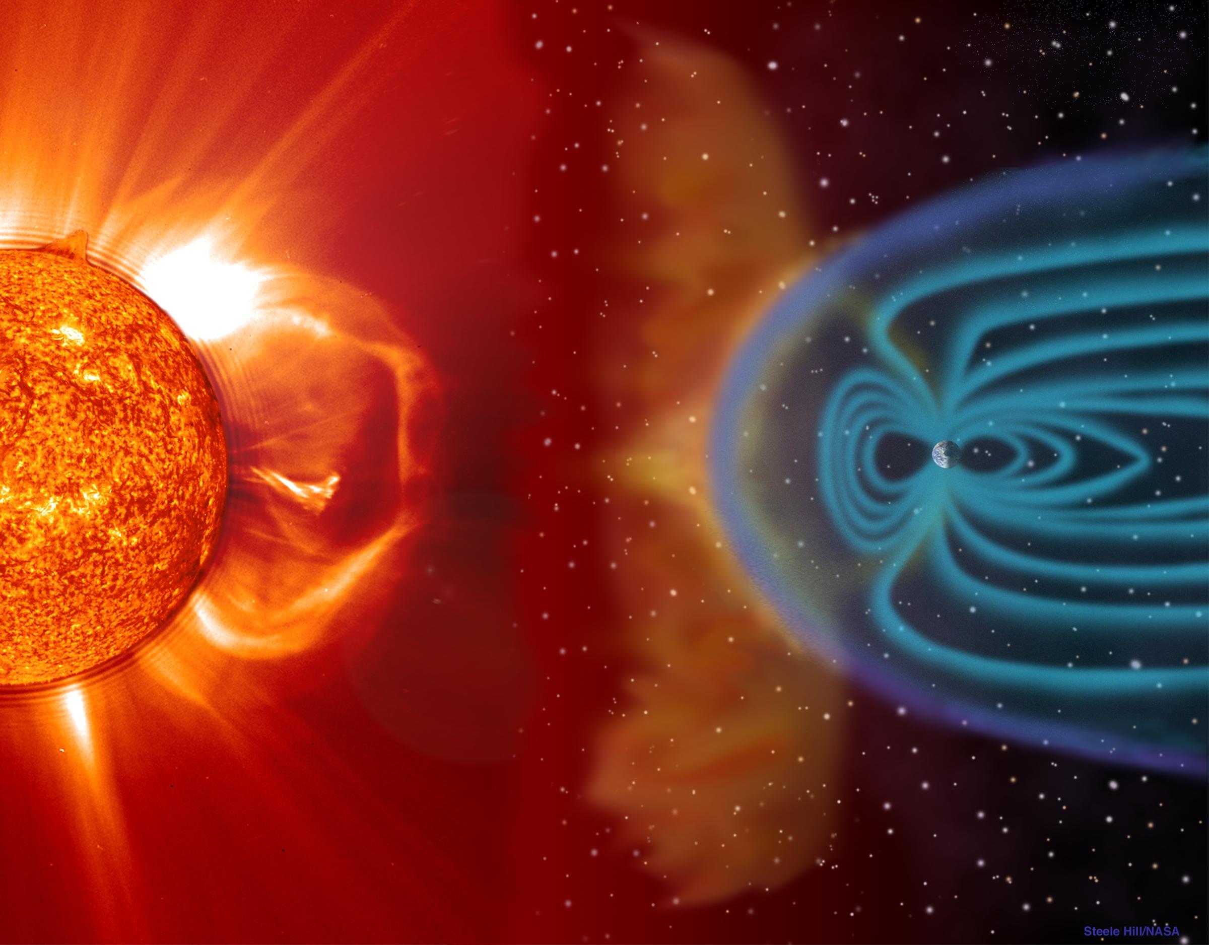 The Sun, Moon, and Stars Prove the Flat Earth Sunearth01