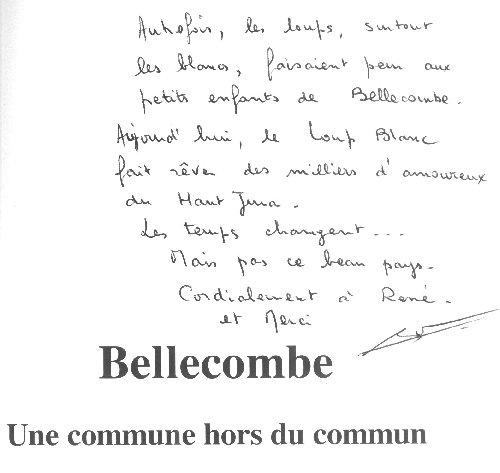 Les Hautes Combes par Jean-Pierre Bouvard - 4/11/2009 Dedicace