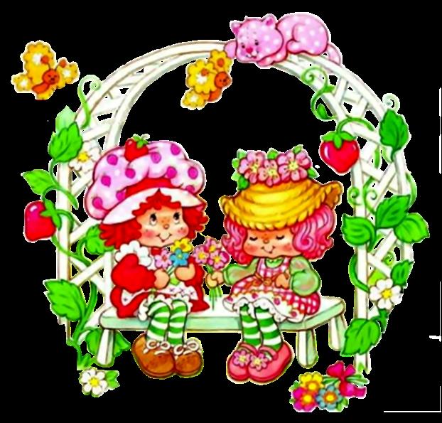Charlotte aux Fraises (divers) - Page 3 Peau-de-Peche-offre-un-bouquet-de-fleurs-a-Charlotte-aux-Fraises_ded