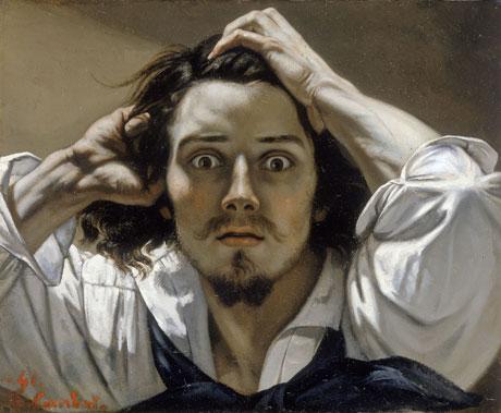 La peinture Courbet-autoportrait