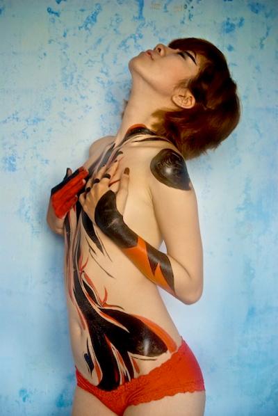 Album ảnh nghệ thuật body painting tuyển chọn. 217ee_vtc-305130-nude3