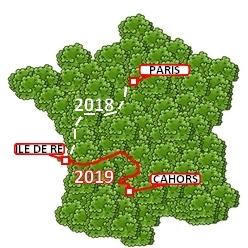 LA TRANSAT VERTE - 2019 - 2020 -  Parcours-lttv-2019