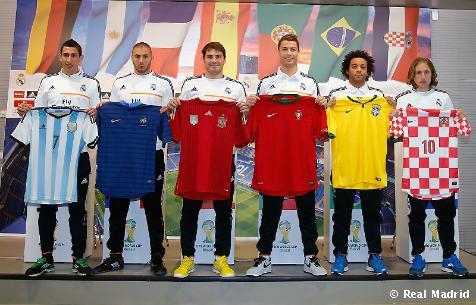 ¿Cuánto mide Iker Casillas? - Estatura real: 1,82 - Real height Casillas-cristiano-diu-maria-marcelo-benzema-modric-al-mundial