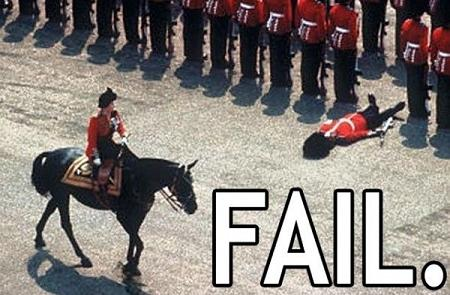 Epic fails! Royal-fail