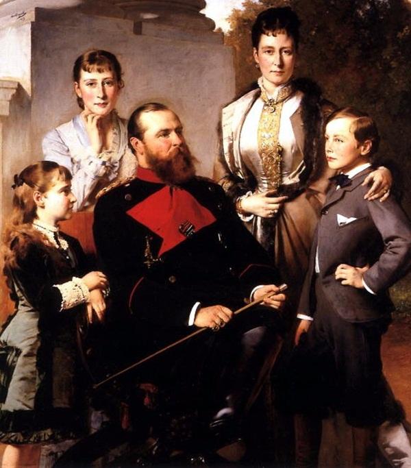House of Myerscough Famous-Family-Portrait-Paintings9