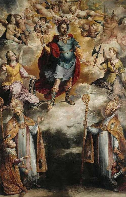 Recaredo, el rey godo católico Copia_de_apoteosis_de_san_hermenegildo_francisco_de_herrera_el_viejo_museo_de_bellas_artes_de_sevilla