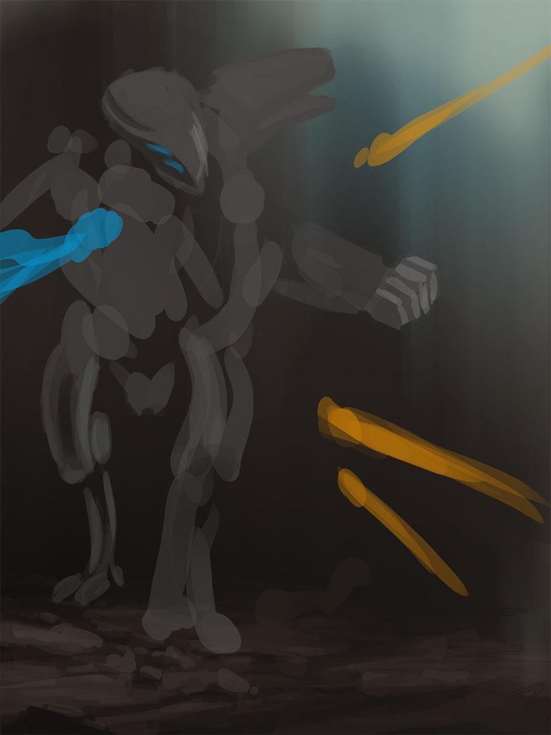 CH4 - Illustration - Combattant au corps à corps 1