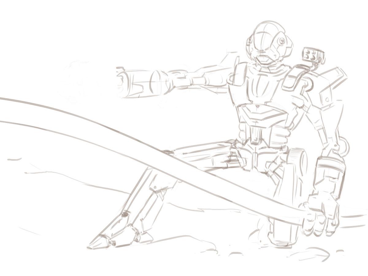 CH4 - Illustration - Combattant au corps à corps 4