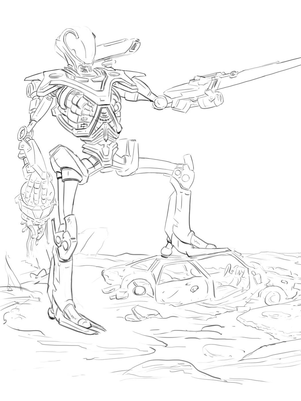 CH4 - Illustration - Combattant au corps à corps 7