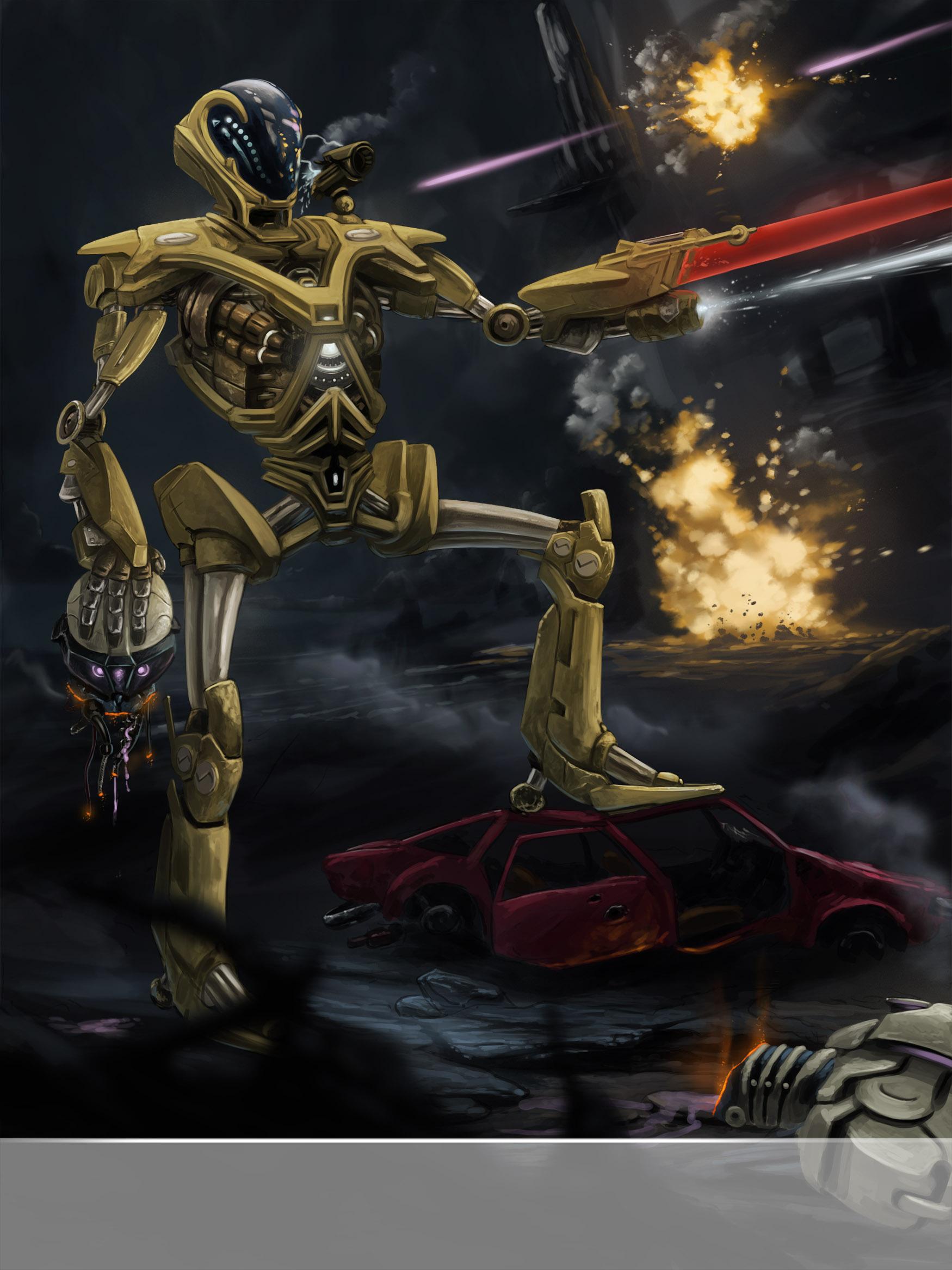 CH4 - Illustration - Combattant au corps à corps Final