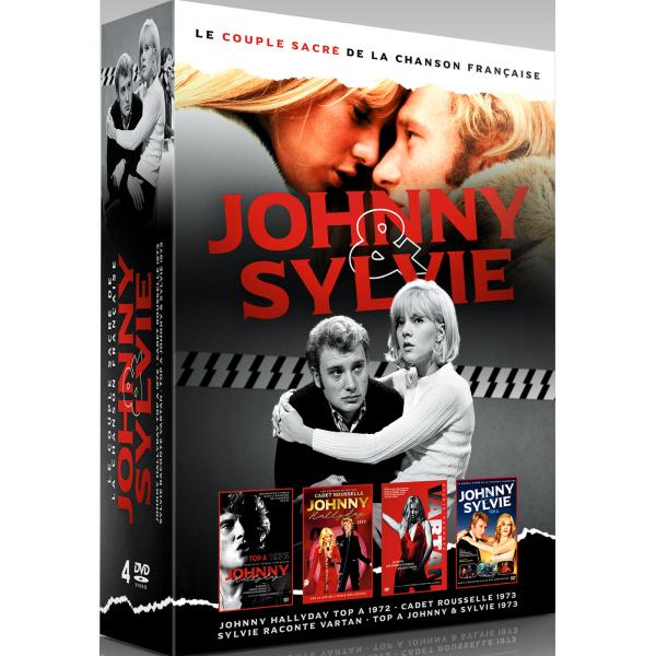 sortie du 25 septembre..dvd.. Coffret-johnnysylvie