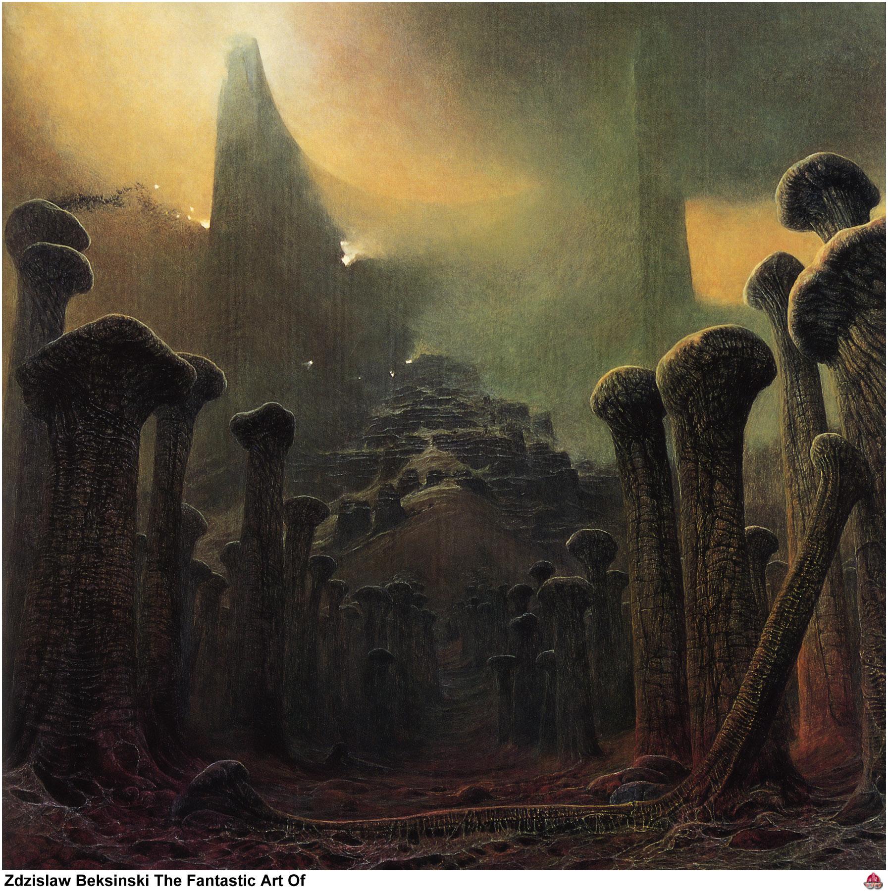 El arte gótico y oscuro de Zdzislaw Beksinski Zdzislaw_beksinski_08