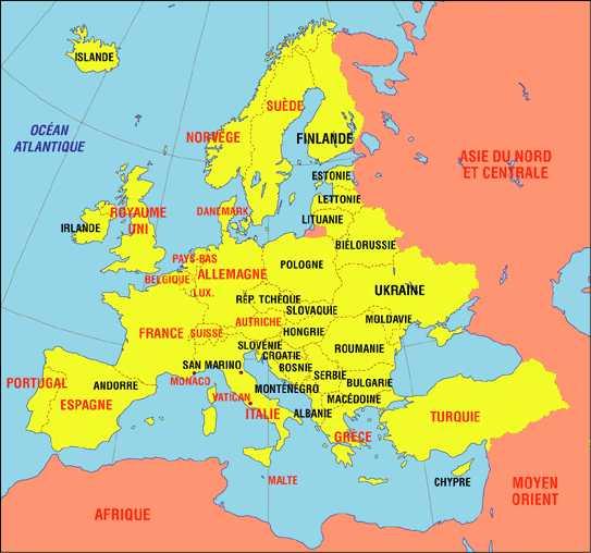 un bâtiment - ajonc - 15 avril trouvé par Martine Bravo Europe-centrale-carte-de-l-Europe-centrale-Republique-Tcheque-Pologne-Slovaquie-Hongrie-Roumanie-Moldavie-Lichtenstein-Suisse-Europe-centrale-0