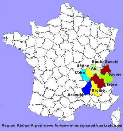 Rhône-Alpes: les membres de la région Auvergne-Rhône-Alpes Rh%C3%B4ne-Alpes-d%C3%A9partements-Ain-Ard%C3%A8che-Dr%C3%B4me-Is%C3%A8re-Loire-Rh%C3%B4ne-Savoie-Haute-Savoie-Lyon-Bourg-en-Bresse-Privas-Valence-Grenoble-Saint-%C3%89tienne-Lyon-%20Chamb%C3%A9ry-Annecy-France