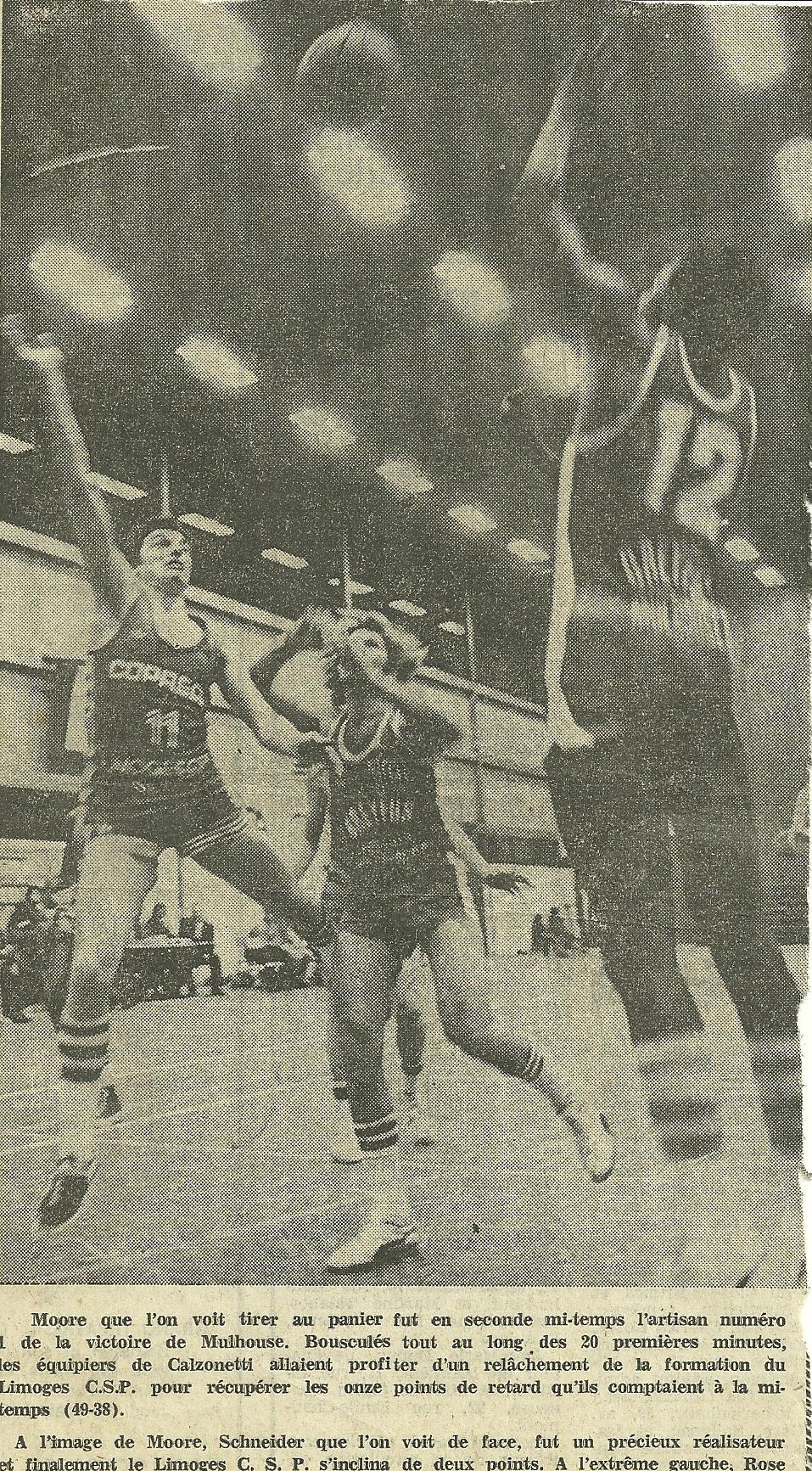 Saison 1977/1978 - N2 (Pro B) 1978-1