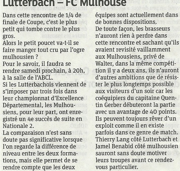 [Coupe CM] Finale 67/68: FCM - BCGO : 84-81 - Page 3 2013-Lutter