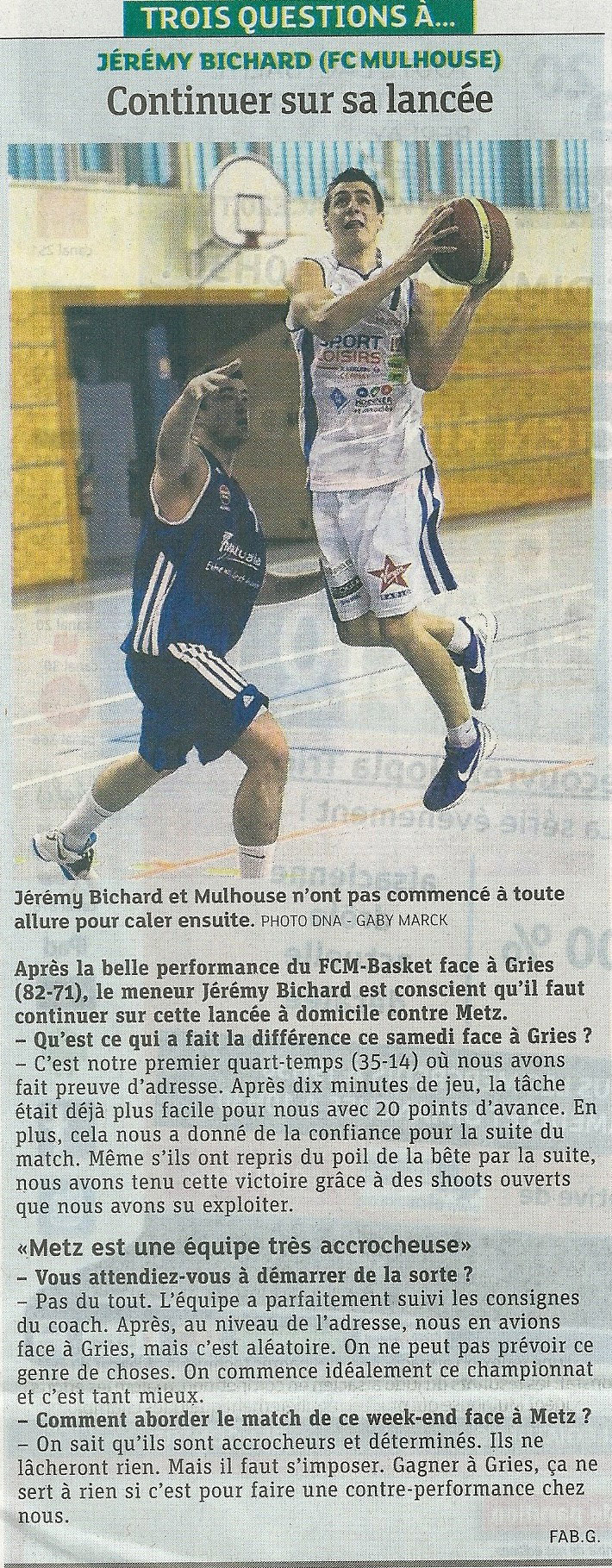 [J 02] FCMB - USM Metz: 86 - 55  - Page 2 2013-metz