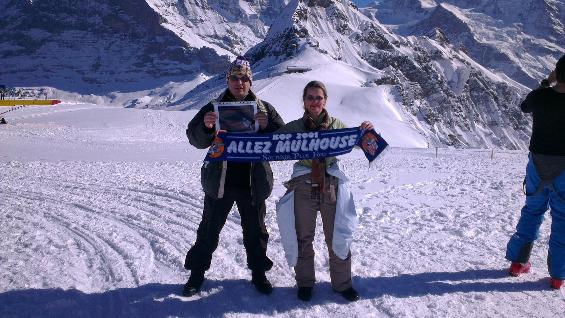 [Mars 2014] Les encouragements avant le match au GET Vosges Grindel1
