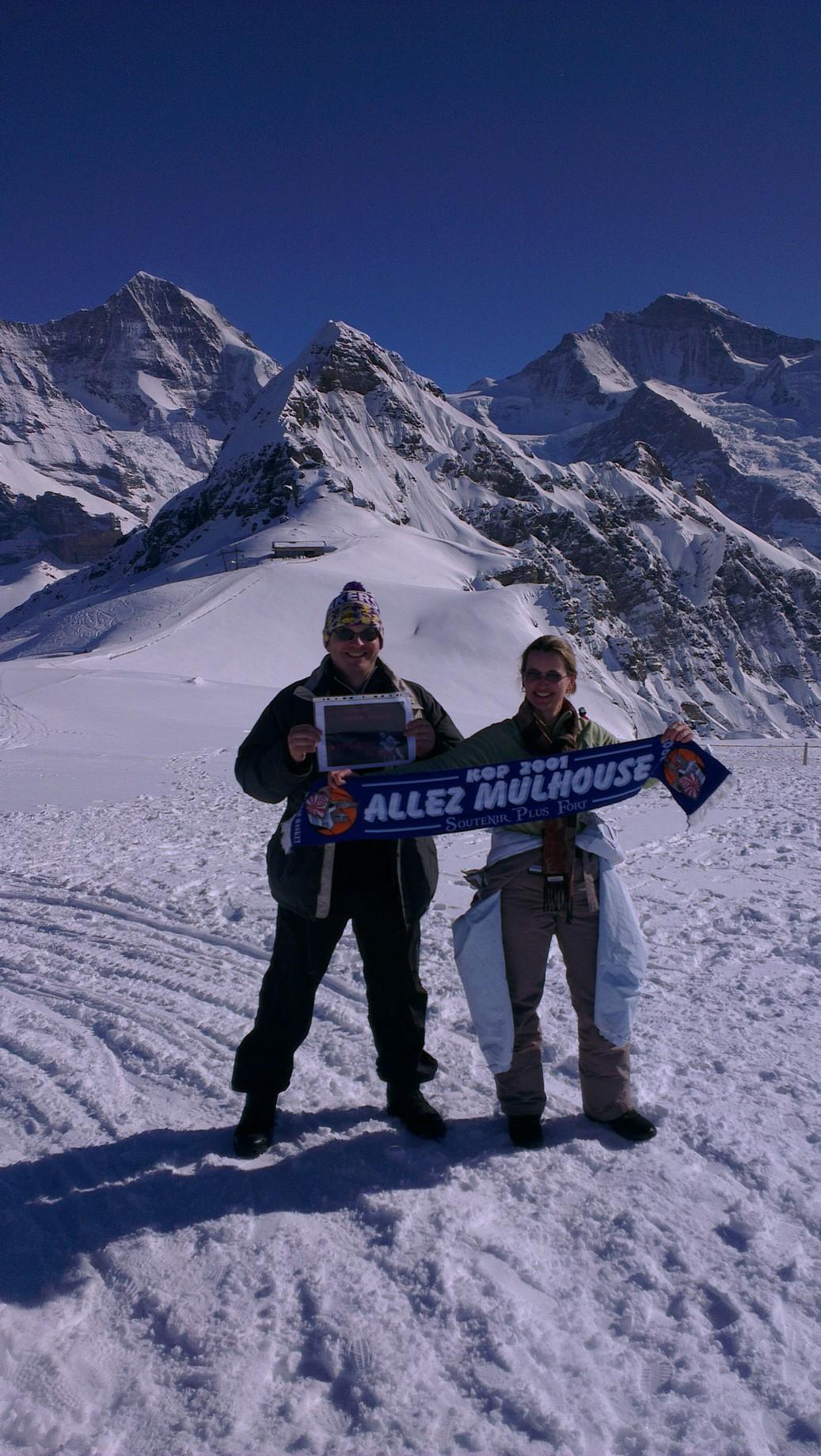 [Mars 2014] Les encouragements avant le match au GET Vosges Grindel2