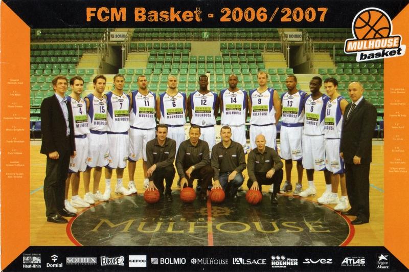 Saison 2006/2007 - Pro B S0607