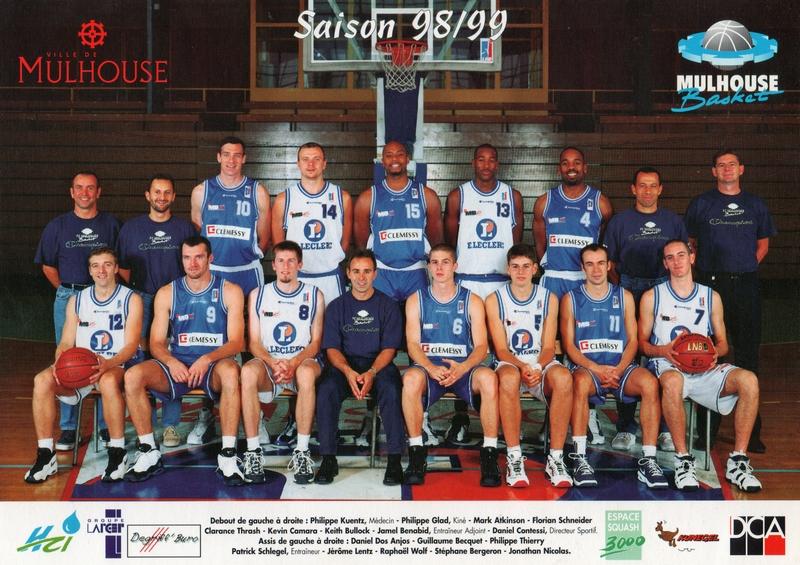 Saison 1998/1999 - Pro B S9899