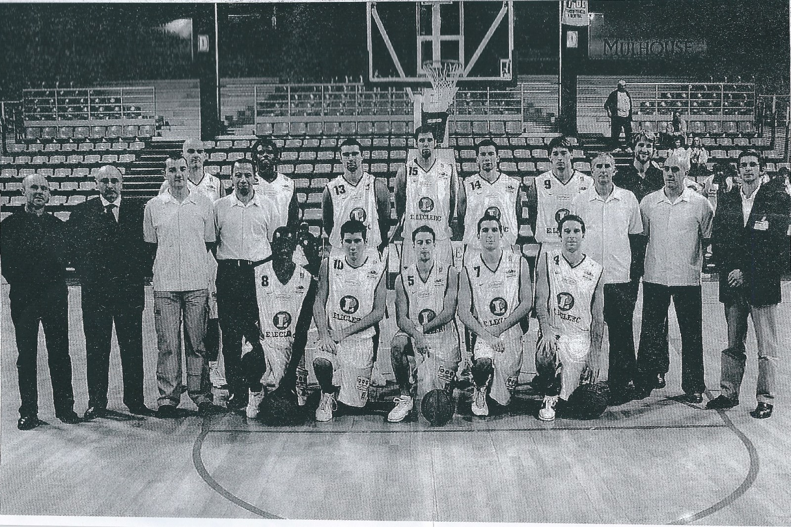Saison 2004/2005 - Pro B Team0405