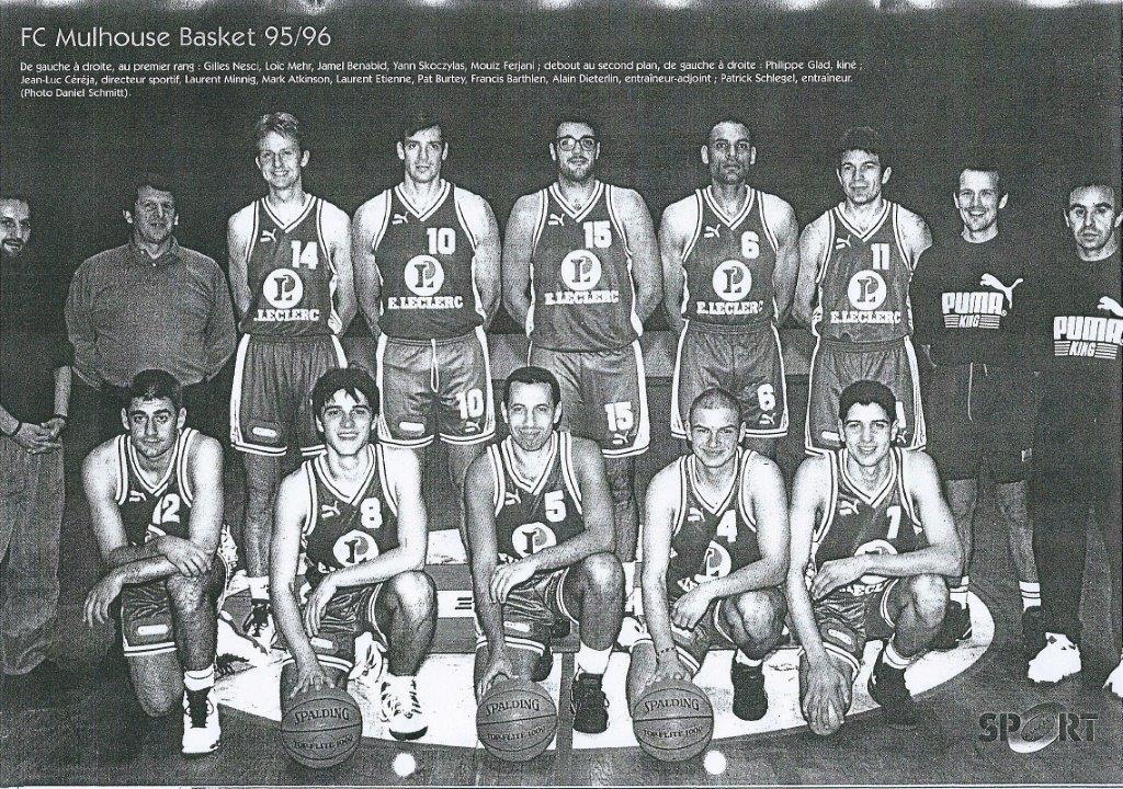 Saison 1995/1996 - Nationale III (N2) 95-96