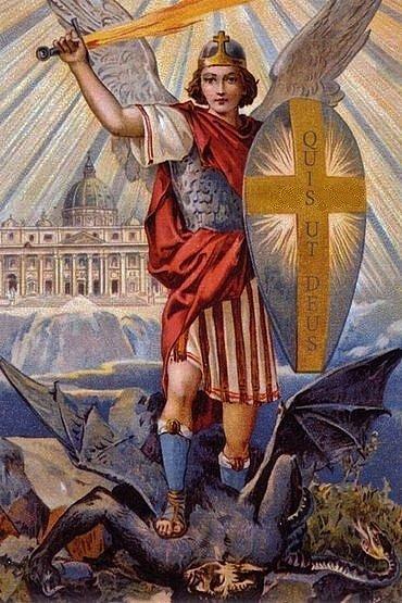 La Prophétie de la Symétrie Miroir - Page 26 Archange-saint-michel