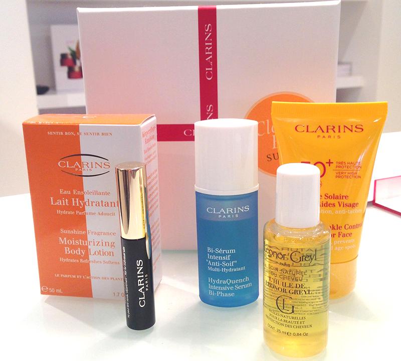 La Cl@rins Box - Page 4 Contenu-clarins-summer-box