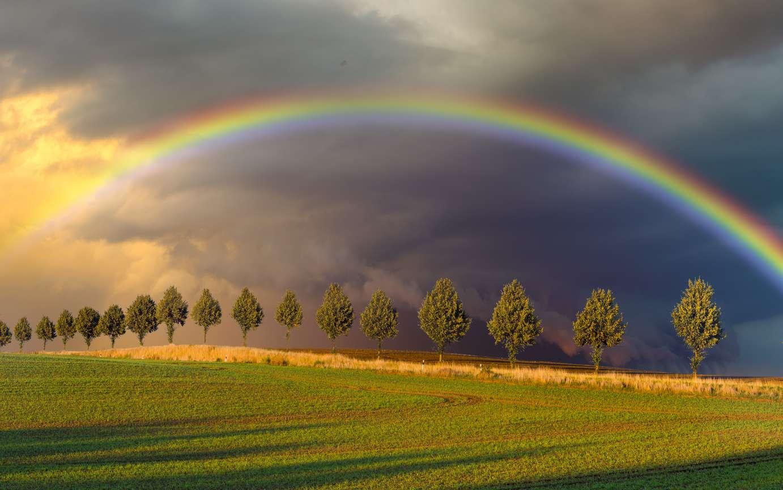Ballade de l'arc-en-ciel - Maurice Rollinat Arc-en-ciel