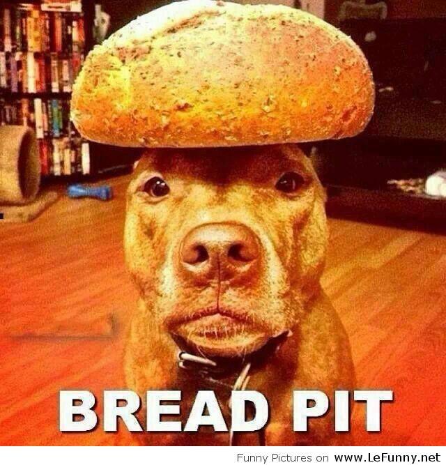 [Aiduce] Pascale n'aime pas le pain. Bread-Pit