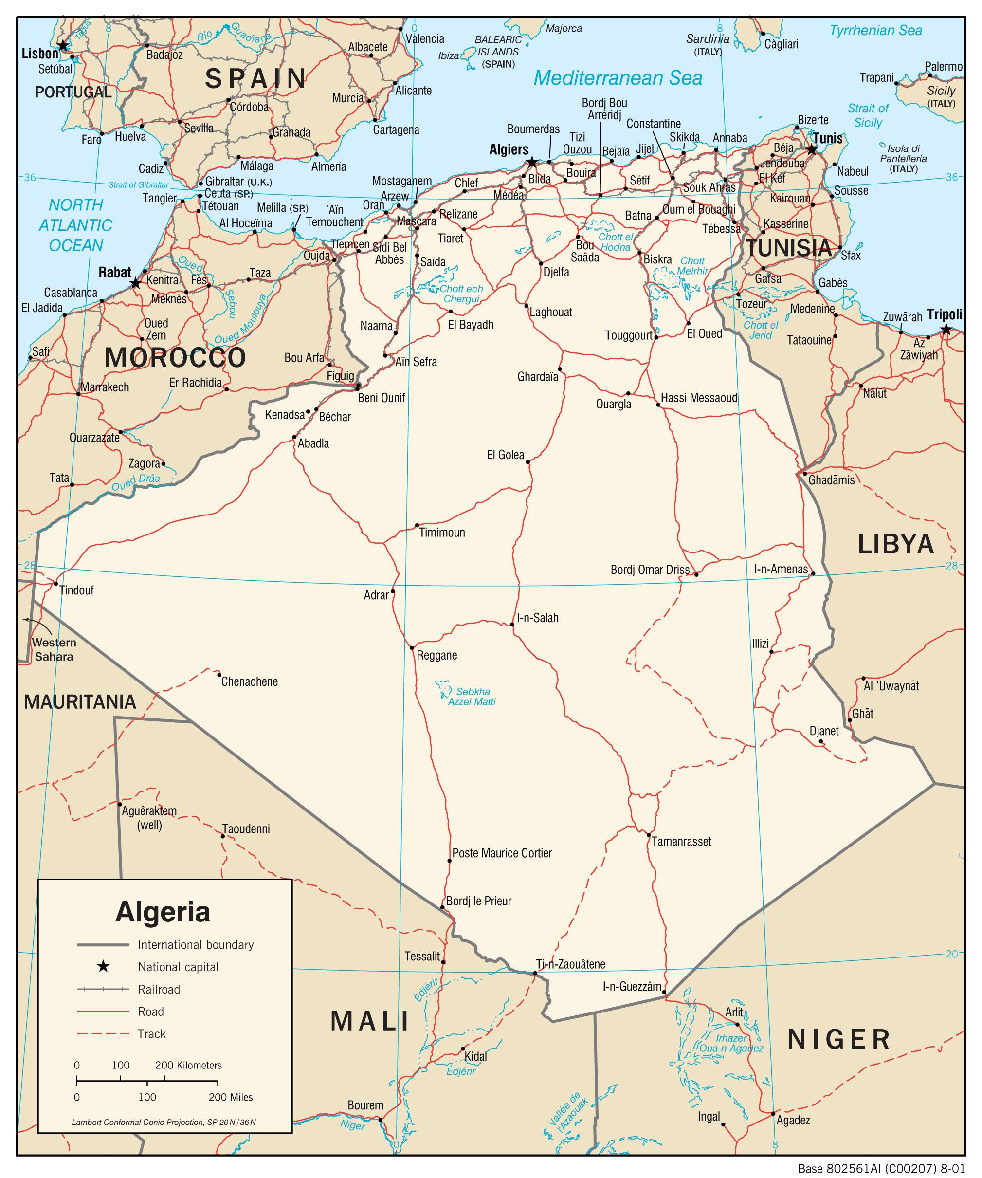 [X] République algérienne démocratique et populaire Algeria_trans-2001