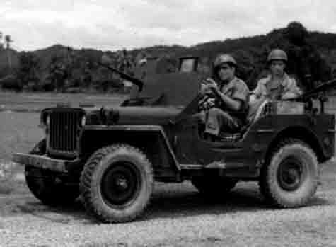 Un peloton original et peu connu :  Le peloton de jeeps blindées du 9ème escadron du 1er REC  (Laos - mai-novembre 1953) . Jeep