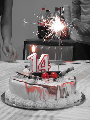 Folise Birthday - 3/10 14th-birthday-cake