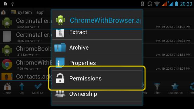 Supprimer les logiciels préinstallés d'Android Android-root-explorer-3