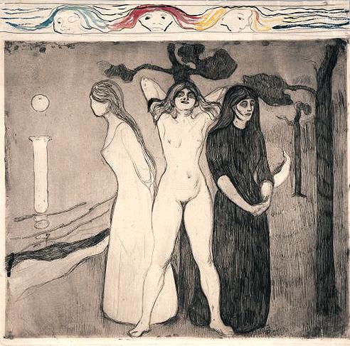 Edvard Munch / Edvard Munk  Edvard-munch-woman-ii