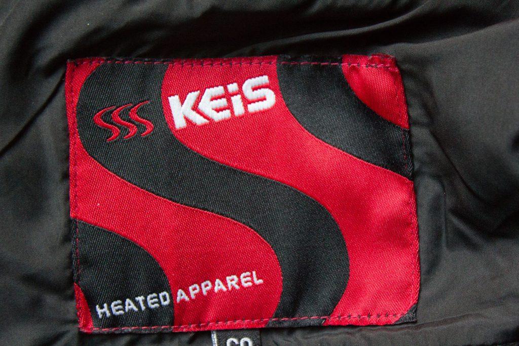 KEIS - Une nouvelle marque de vêtements chauffants arrive en France Keis-veste-chauffante-j501-test-motarologue-5-1024x683