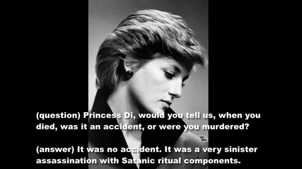 Elisabeth 2  La Reine Reptilienne a parlé...Les merdias étaient ravis !  Diana