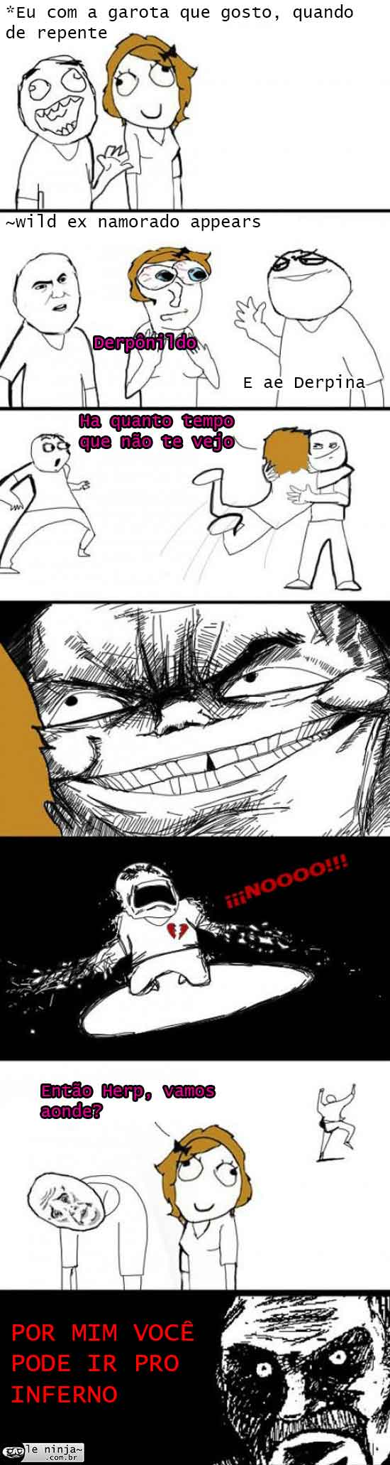 Tirinhas memes - Página 3 Garota