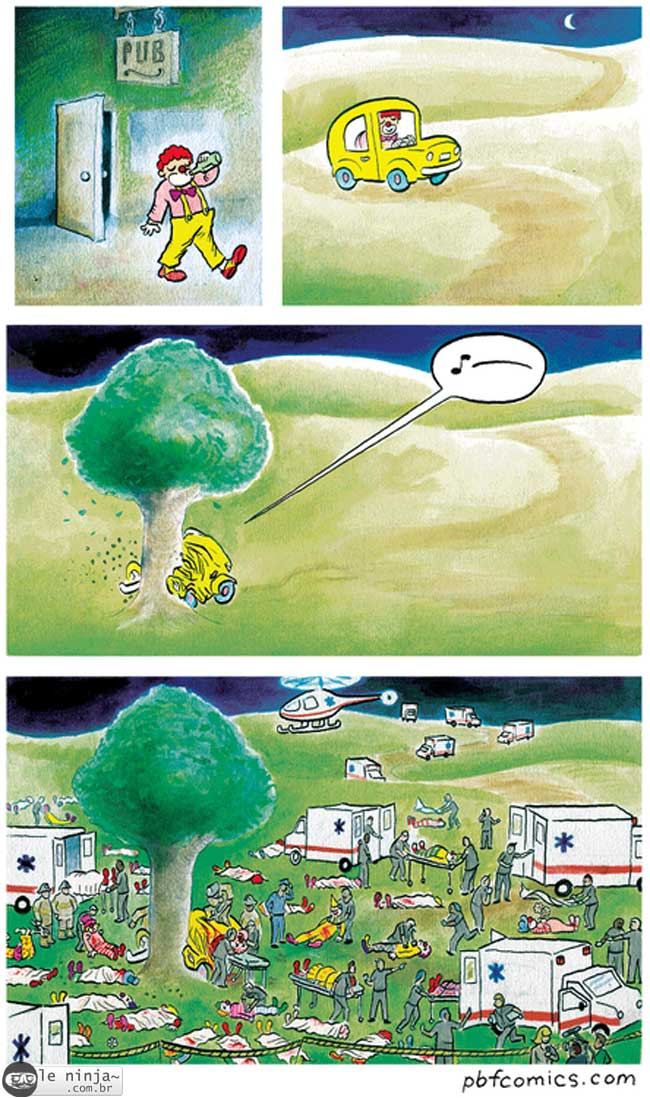 Tirinhas memes - Página 22 Acidente
