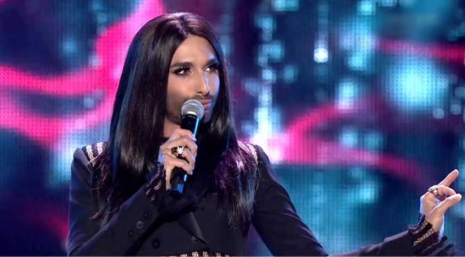 Eurovision Song Contest 2016 - UKRAINE WINS !!! Conchita-wurst-river-deep-mountain-high