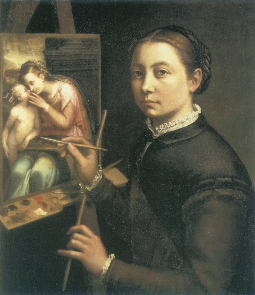 Žene u vajarstvu Sofonisba_anguissola_a-884x1024