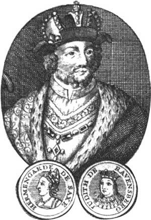 Lieux de naissance et de mort des Rois de France Carolin3