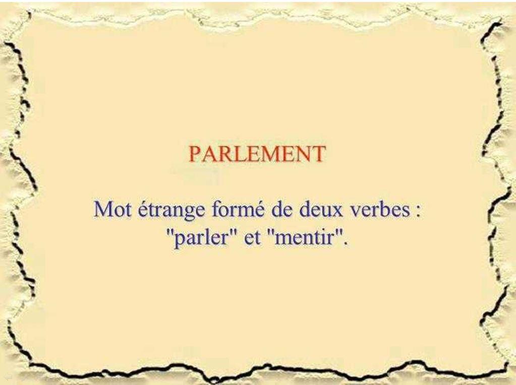 un peu d'humour en images Parlement