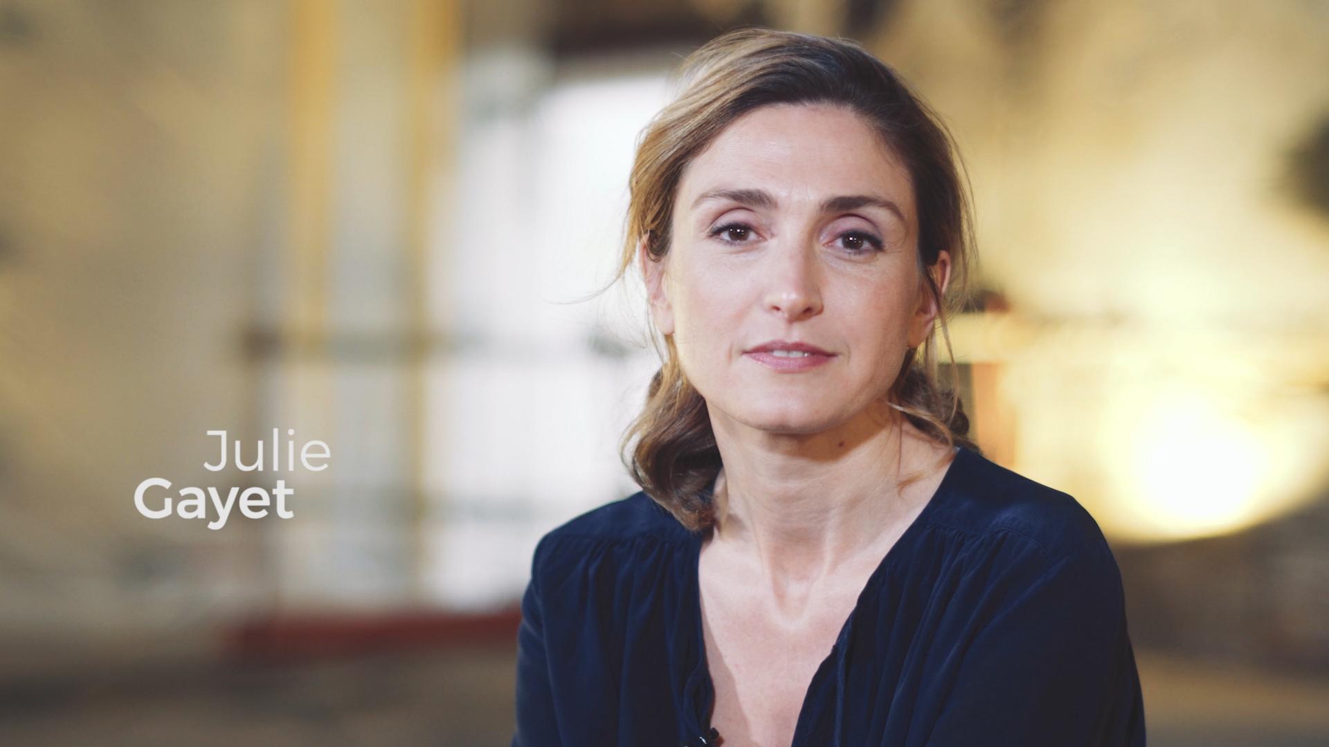personnage de jovany 12/10/17 bravo à Martine Julie-Gayet