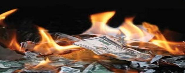 gaya - Alternative de société et conscience pour Gaya. Burning-money