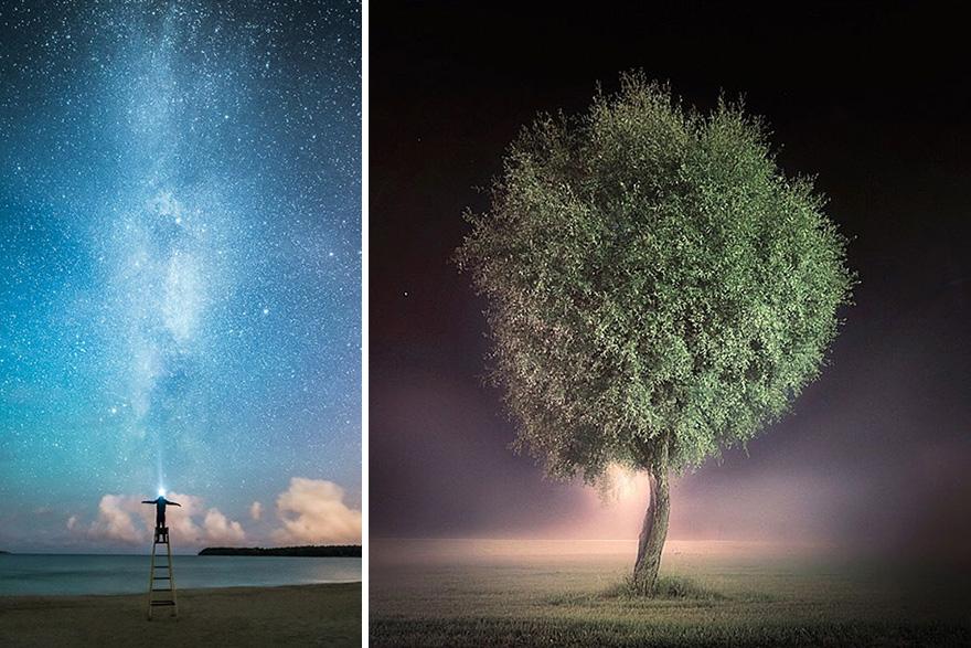 C'est de toute beauté : sites et lieux magnifiques de notre monde. Stars-night-sky-photography-self-taught-mikko-lagerstedt-2
