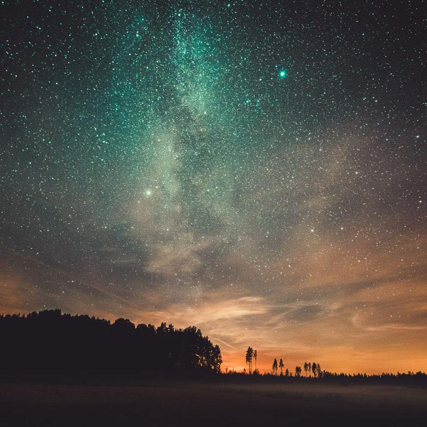 C'est de toute beauté : sites et lieux magnifiques de notre monde. Stars-night-sky-photography-self-taught-mikko-lagerstedt-22