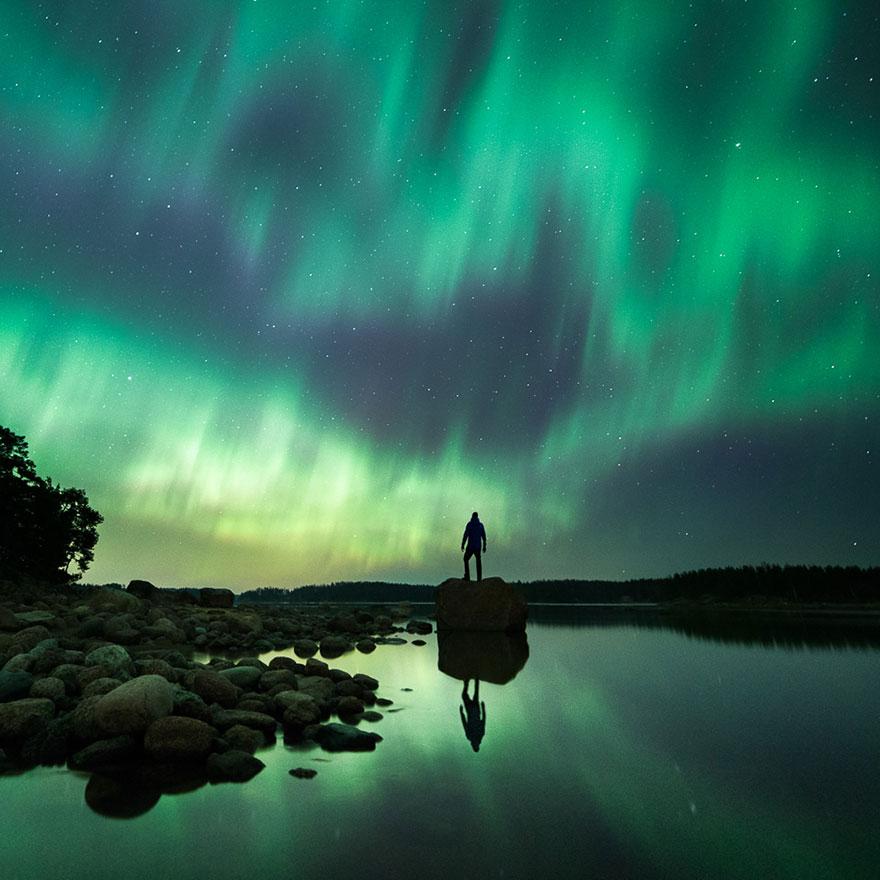 C'est de toute beauté : sites et lieux magnifiques de notre monde. Stars-night-sky-photography-self-taught-mikko-lagerstedt-23