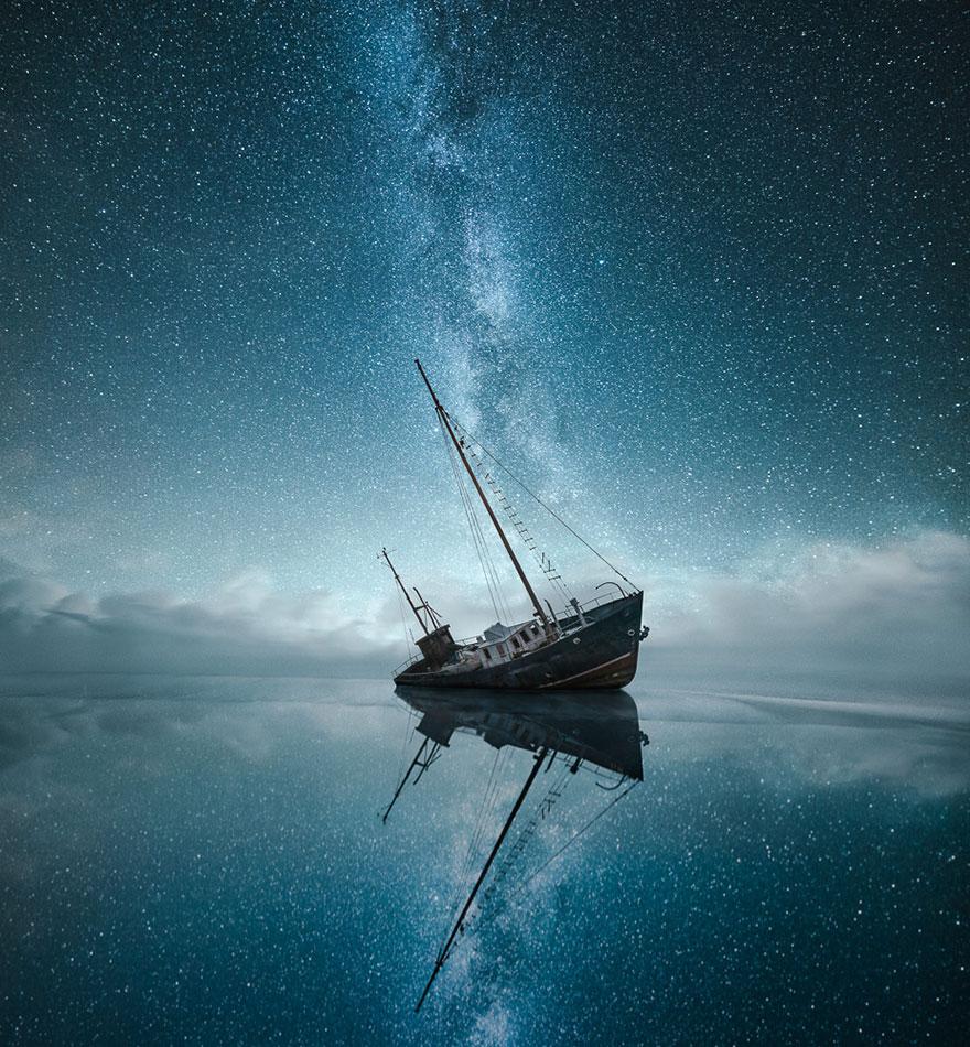 C'est de toute beauté : sites et lieux magnifiques de notre monde. Stars-night-sky-photography-self-taught-mikko-lagerstedt-24